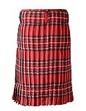 Scottish Mens Kilt Traditional Highland Dress Skirt