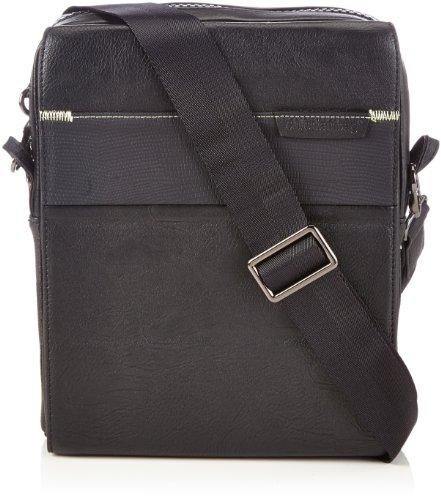 entertainbag cognac iPad bandolera Negro bag Integrity Bolso arPAa