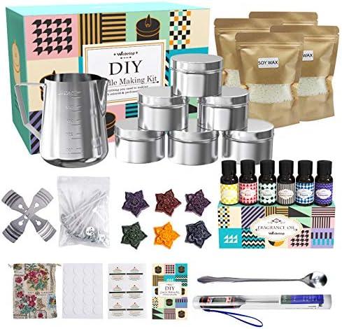 Candle Making Kit Supplies through Webetop