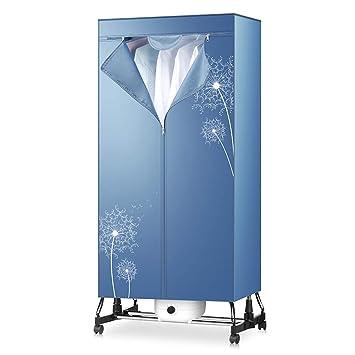FORWIN UK- El secador de Ropa Cubierto del guardarropa, Capas Dobles multifuncionales ayuna el guardarropa del Aire Caliente para el hogar y los ...