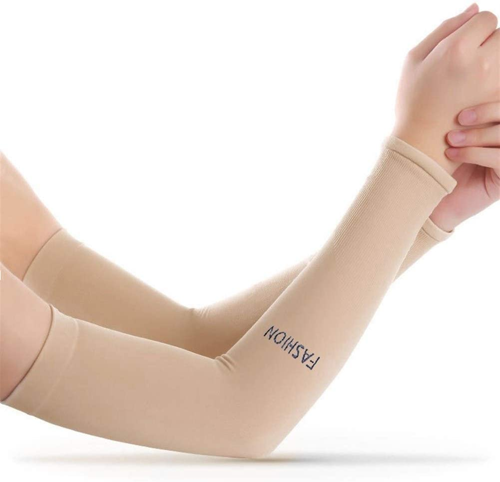 Summer Cooling Cycling Arm Sleeves Covers Sun UV Protection Ice Silk Oversleeve