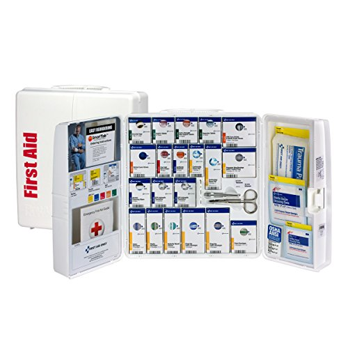 Pac-Kit by First Aid Only 1000-FAE-0103 Large Smart Compliance General Workplace First Aid Cabinet with Pain Relief Medication from First Aid Only