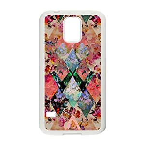 Diamond Background DIY Cell Phone Case for SamSung Galaxy S5 I9600 LMc-86175 at LaiMc