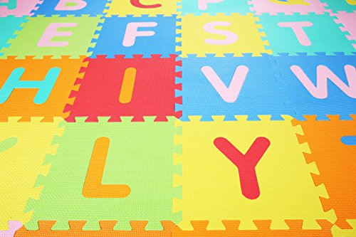 BalanceFrom Kid's Puzzle Exercise Play Mat with EVA Foam Interlocking Tiles by BalanceFrom (Image #3)