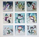 McKenna Ryan~SNOW BUDS~Pre-Cut Laser Applique Kit With Fabric~9 BLOCKS~COMPLETE