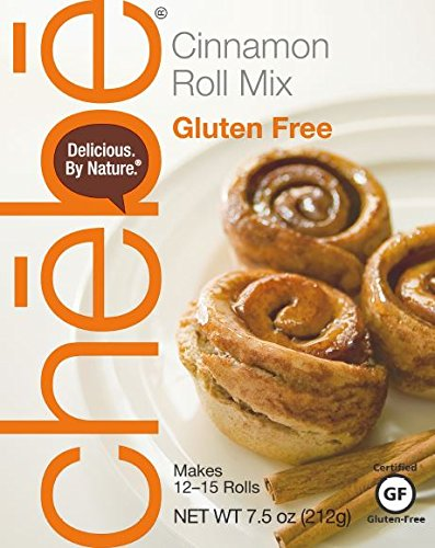 Chebe Bread Cinnamon Roll Mix, Gluten Free, 7.5-Ounce Box (Pack of 8) (Best Cinnamon Roll E Juice)