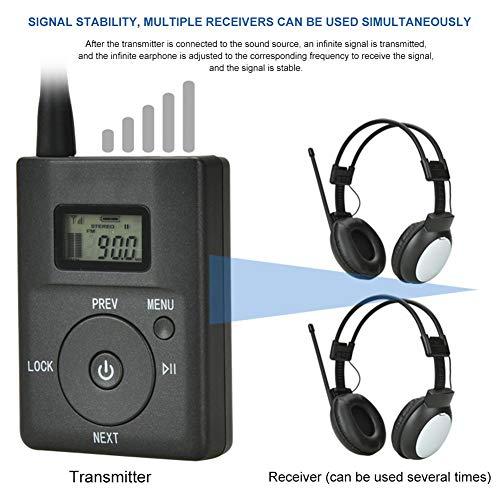 duhe189014 Transmisor de Audio port/átil FM inal/ámbrico FM transmisor de Audio gu/ía gu/ía de transmisi/ón de Audio MP3 4 transmisor de Audio