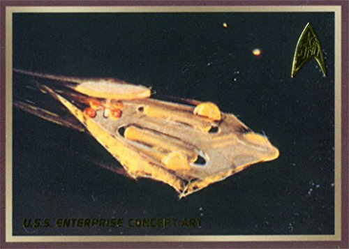 Star Trek TOS 50th Anniversary Enterprise Concept Art Chase Card E4
