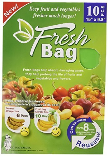 Green Bags Keep Fruit Fresh - 2