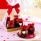 Petite Caramel Apple Heart 4-Pack Gift