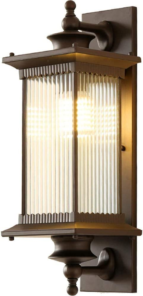 Inicio lámpara de pared exterior jardín villa pared pasillo ...