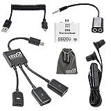 Best EEEKit Headphones Iphones - Dual Micro USB Host OTG Hub Adapter,OTG Card Review
