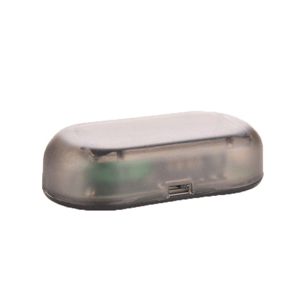 Auto simulato Solare LED di Allarme di Sicurezza Blu Flash antifurto antifurto-deterrente Morza Falso Solar Car Alarm