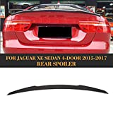 For Jaguar XE Sedan 2015 2016 2017 Factory CNC Moulding Carbon Fiber Top-fit Car Styling Tuning Body Kits (Rear Trunk Wing Spoiler)