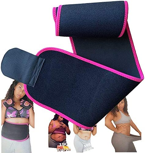 Waist Trainer Slimming Belt Back Support Waist Band Fitness Strength Training Equipment core Abdominal Trainers Sweat Band Waist Trainer for Women 2