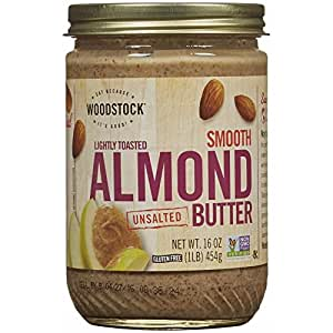 Woodstock Lightly Toasted Almond Butter, Unsalted