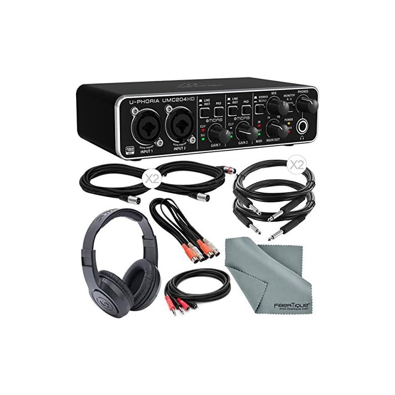 Behringer U-PHORIA UMC204HD USB 2.0 Audi