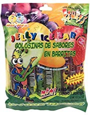 Jelly Fruit Strips Original Fruity's JU-C Snacks - Candy Golosinas de Sabores En Barritas - Assorted Flavors