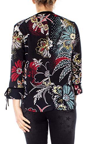 Manica Nero Camicia Lunga 19swcw85 Donna Desigual Peacock Cam 615Pqxnx
