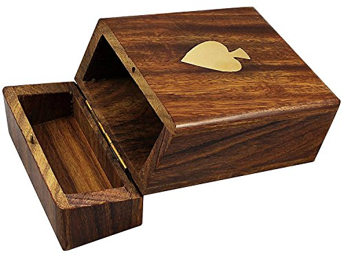 Cigarette Case Pack (Cigarette Pack Dispenser Case for Regular Size Cigarette Handmade Wooden Box)