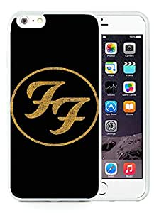 Foo Fighters 1 White Case with Unique and Luxurious Protective for TPU iPhone 6 Plus 5.5 inch