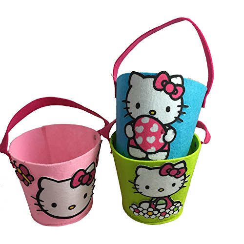 Hello Kitty Felt Pails ()