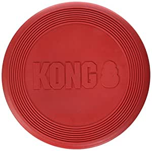 KONG Flyer Dog Toy, Small, Red