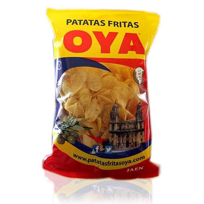 Patatas Fritas OYA 225 gr. - Caja de 12 bolsas: Amazon.es ...