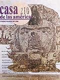 Revista casa de las americas enero-marzo del 1998.numero 210 de la visita del papa juan pablo II a cuba
