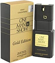One Man Show Gold Edt 100Ml, Jacques Bogart, Sem Cor