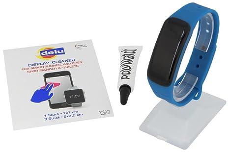 Atlanta – Rastreador de Fitness con frecuencia Cardíaca GPS Pulsómetro Tensiómetro de Oxígeno Smart Watch Reloj