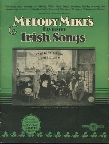 Melody Mike's Favorite Irish Songs - No. 1 -