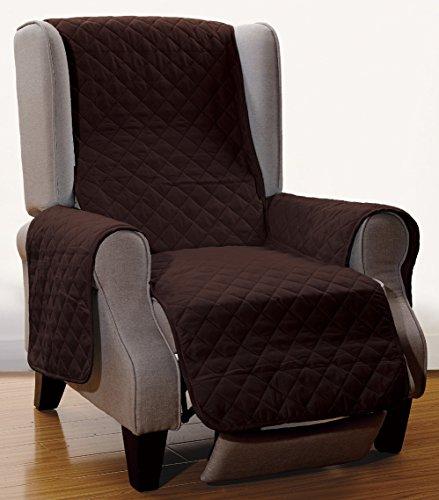 Grand Chair Slipcover - Grand Linen Reversible Recliner Cover 65