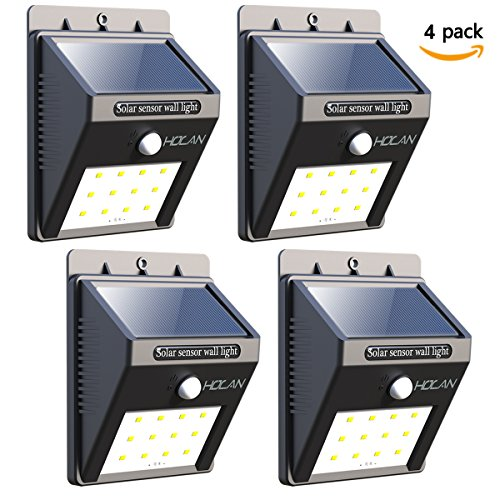 12 LED Solar Lights, Iextreme Waterproof Solar ...