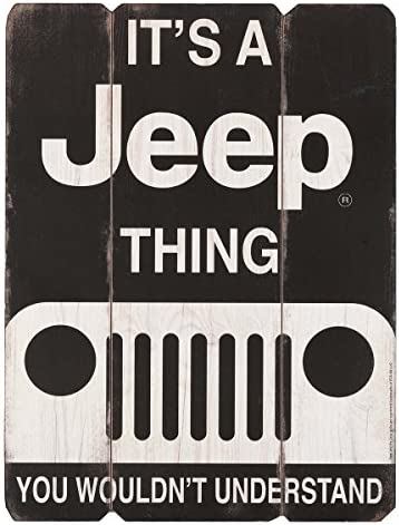 "It/'s A Jeep Thing You Wouldn/'t Understand Decal 7/"" x 3.5/"" Die cut"