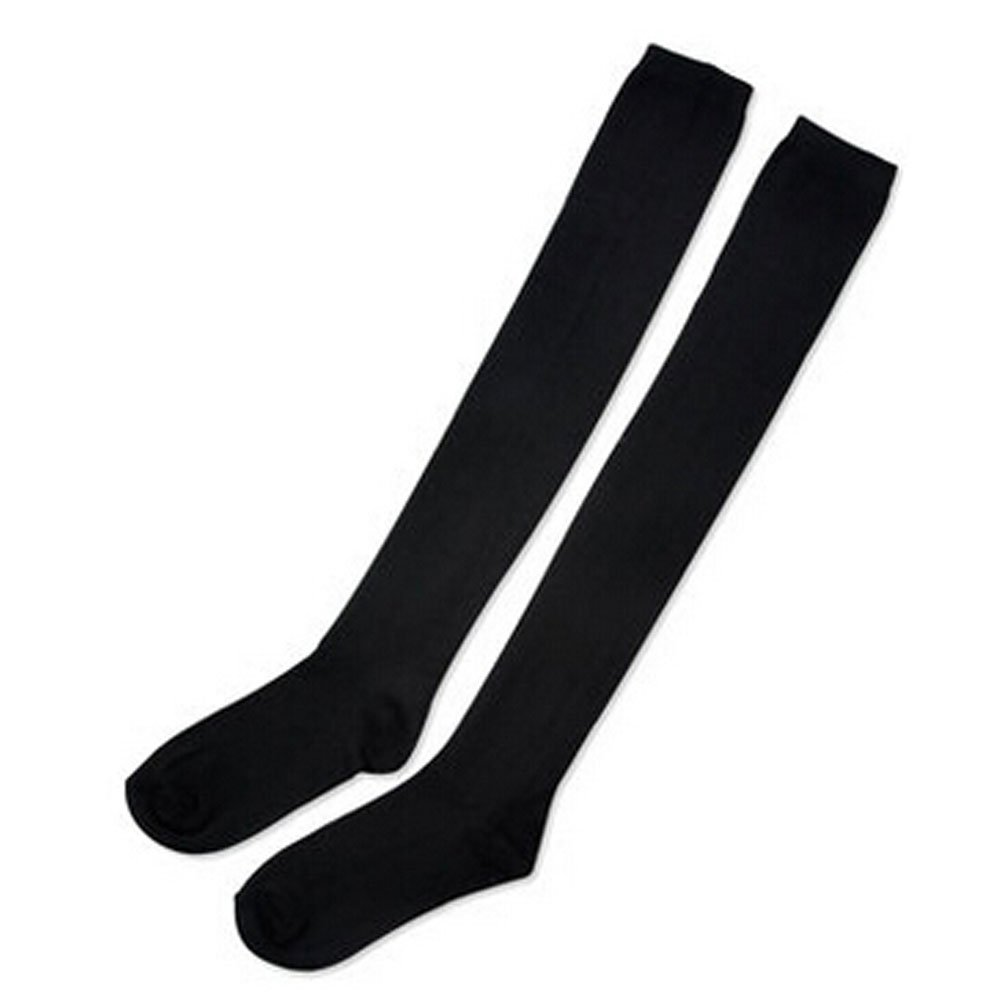 black Personalized Stockings Girls Ladies knee high socks Socks