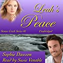 Leah's Peace: Stones Creek, Book 1 Audiobook by Sophie Dawson Narrated by Suzie Venable