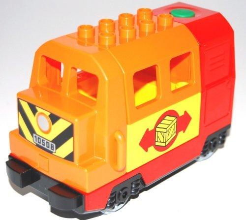 LEGO® DUPLO® elektrische Lokomotive orange/rot /gelb