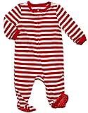 Leveret Kids Fleece Baby Boys Girls Footed Pajamas