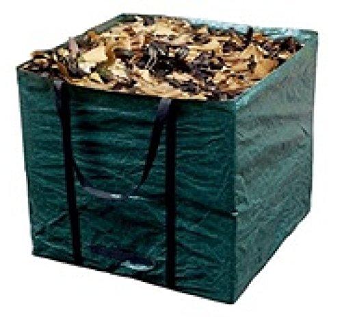 Profigarden 1003516 Garten Abfallsack Laubsack eckig 245 Liter 70x70x50cm grün
