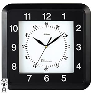 Reloj de pared radiocontrolado 9