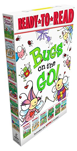 Bugs on the Go!: Springtime in Bugland!; A Snowy Day in Bugland!; Bitsy Bee Goes to School; Merry Christmas, Bugs!; Busy Bug Builds a Fort; Bugs at the Beach (David Carter's Bugs)
