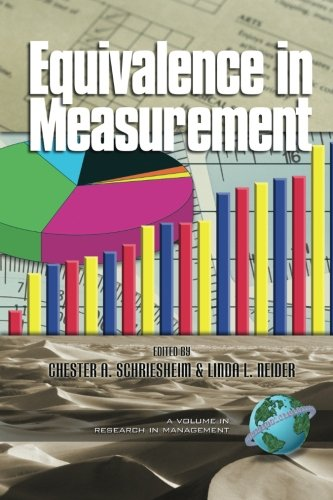 Download Equivalence in Measurement (Research in Management, V. 1) ebook