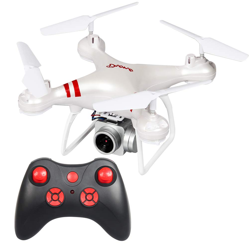 Juweishangmao LF608 WiFi FPV RC Drone Quadcopter with 300,000 Pixels HD WiFi Camera, Long Flight Time,White by Juweishangmao
