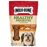 Cheap Milk-Bone Healthy Favorites Chewy Dog Treats With Real Chicken, 5-Ounce (Pack Of 5)