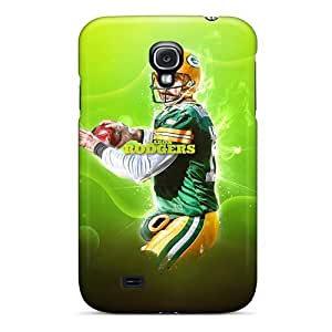 Awesome Green Bay Packers Flip Cases With Fashion Design For Galaxy S4