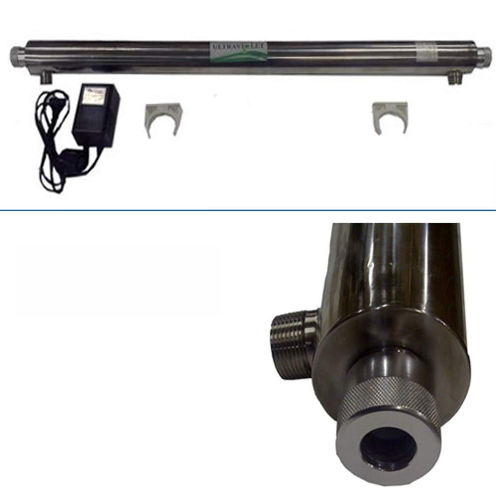 'UV Filtro de agua agua Desinfectante Sistema con bombilla 55 W, 3/4, 2.7 T/H max. 2.7T/H max. purway Crystal Group®