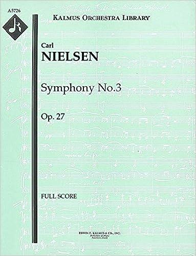 Symphony No.3, Op.27: Full Score [A5726]