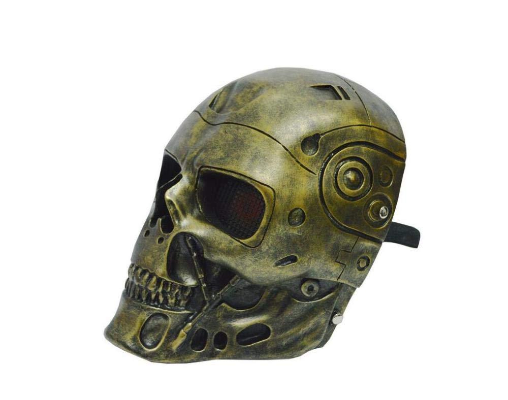 QJXSAN Terminator Roboter Maske Maske Horror Skelett Halloween Maske Prop CS Feld B07HB1NN6B Masken für Erwachsene Überlegene Qualität   Online Shop