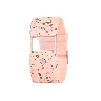 hunpta la nueva II reloj X6 inteligente reloj con multifuncional Fashion Smart auxiliar, rosa